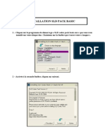 Installation Sld Pack Basic