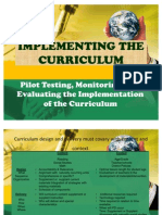 Implementing the Curriculum
