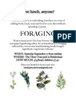 Foraging Poster