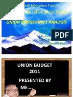 Budget Analysis 2011
