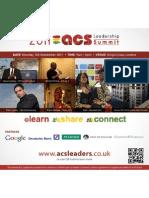2011 ACS Leadership Summit - Flyer