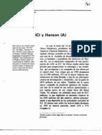 ICI y Hanson