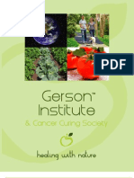 Gerson Institute Brochure