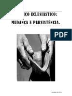 Serviço Eclesiástico mudança e persistência