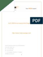 Az E-SDS és az expozíciós forgatókönyv