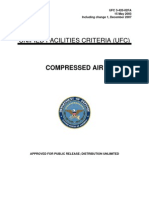 Unified Facilities Criteria (Ufc) for Compressed Air