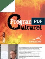 guide culturel 2011-12 Médiathèque