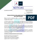 Boletín No. RP-0809-009 Planta Sagara