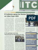 Boletín del Instituto Tecnológico de Canarias (marzo 2002)