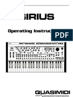 Sirius Manual