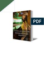 Ebook - Wo Frau kennenlernen?