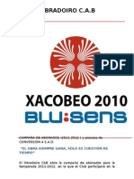 CAMPAÑA DE ABONADOS 2011- 2012
