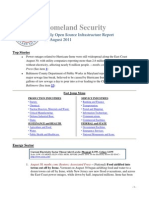 DHS Daily Report 2011-08-31