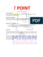 ¿Que es un testpoint?