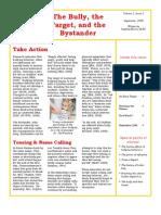 Trevor Romain Educator Newsletter - September 2008