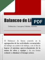 balanceo
