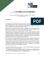 De las revueltas a la revolución - Isabel Rauber