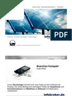 Solarhersteller - goldene Zeiten und scharfe Konsolidierung - Branchen Kompakthersteller