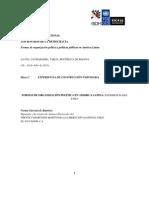 Formas de organización política en América Latina