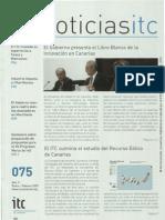 Boletín del Instituto Tecnológico de Canarias (febrero 2007)