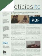 Boletín del Instituto Tecnológico de Canarias (marzo-abril 2007)