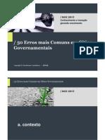 50 Erros Sites Governamentais PDF