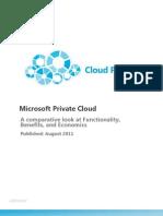 Microsoft Private Cloud Whitepaper