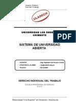 ULADECH - Derecho Individual Del Trabajo
