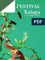 Programa Hay Festival Xalapa