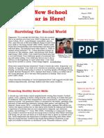 Trevor Romain Parents Newsletter - August 2008