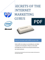 Secrets of the Internet Marketing Gurus