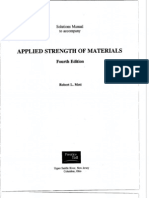 Mott 4e applied strength of materials solutions Chapter 1
