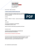 Bancoop -Autos 130615-10 - Voto Por Rejeicao Arquivamento - Dissolucao Bancoop PDF