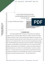 iPhone Antitrust Decision on Motiontodismiss