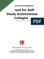 Manual for Re-Accreditation for Autonomous-Final-30!05!07