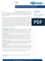 Barracuda Networks WP Archiver Compliance White Paper