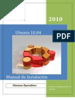 Manual Ubuntu LuizGerardo