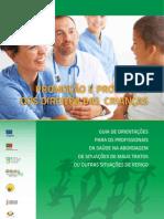 Guia de orientações para os profissionais de saúde na abordagem de situações de mt