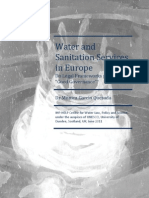 Water and Sanitation Services in Europe Report June 2011 FINAL