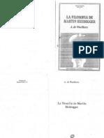 WAELHENS, Alphonse de - La filosofía de Martin Heidegger
