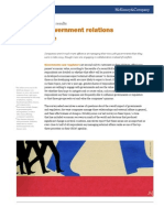 Managing Government Realtions for the Future - Encuesta McKinsey