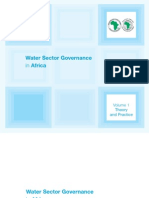 Vol 1 Water Sector Governance