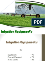 Irrigation Equipments