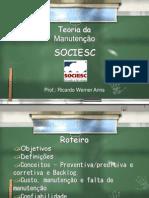 3 - TEORIA DA MANUTENCAO