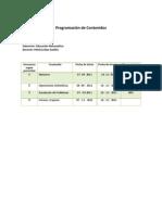 Planificacion Matematica 1º