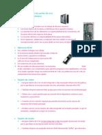 Características de las partes de una computadora por andrea meza