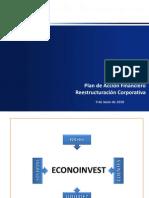 EconoinvestPlanVicePresidentesIntervencion