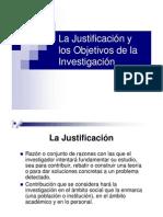 Los Objetivos de La Investigacion