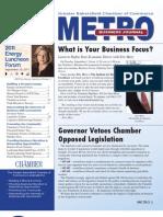 METRO Business Journal - September 2011