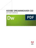 Dream Weaver Cs3 API